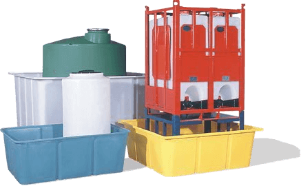 Polyethylene plastic storage tanks