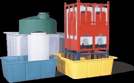 Contaitment Basins & tanks