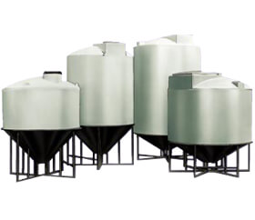 conical bottom storage tank