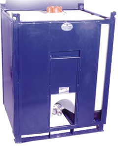 Dangerous goods, fully enclosed, UN approved IBC tote